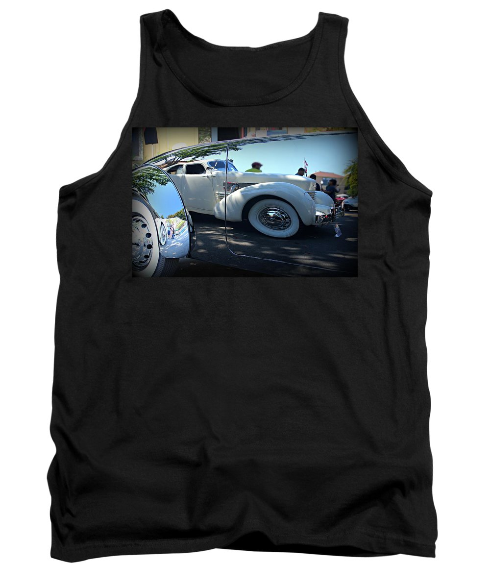 Cord Tank Top featuring the photograph In A Cord by Steve Natale