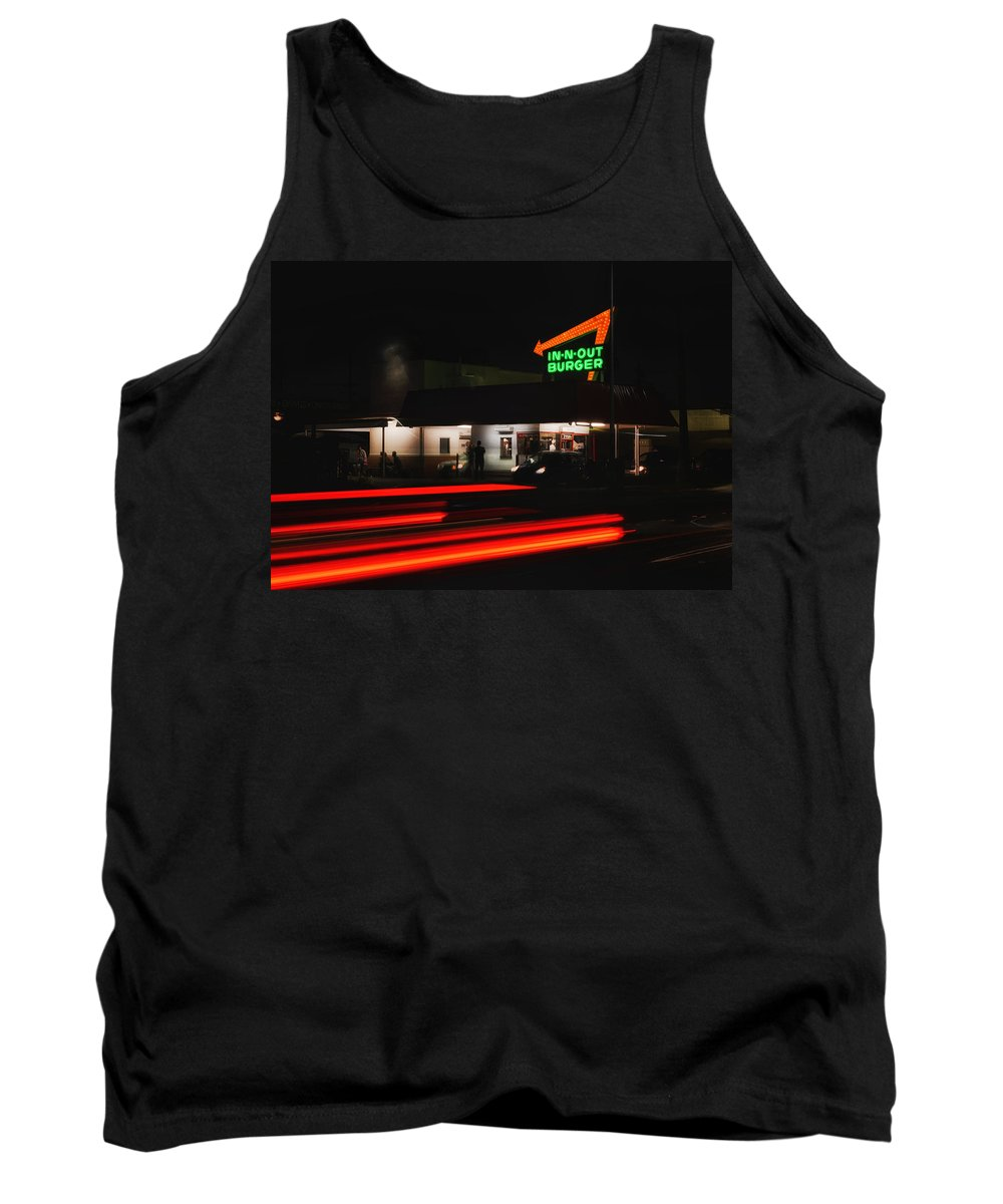 Pasadena Tank Top featuring the photograph In And Out In Pasadena by Mountain Dreams