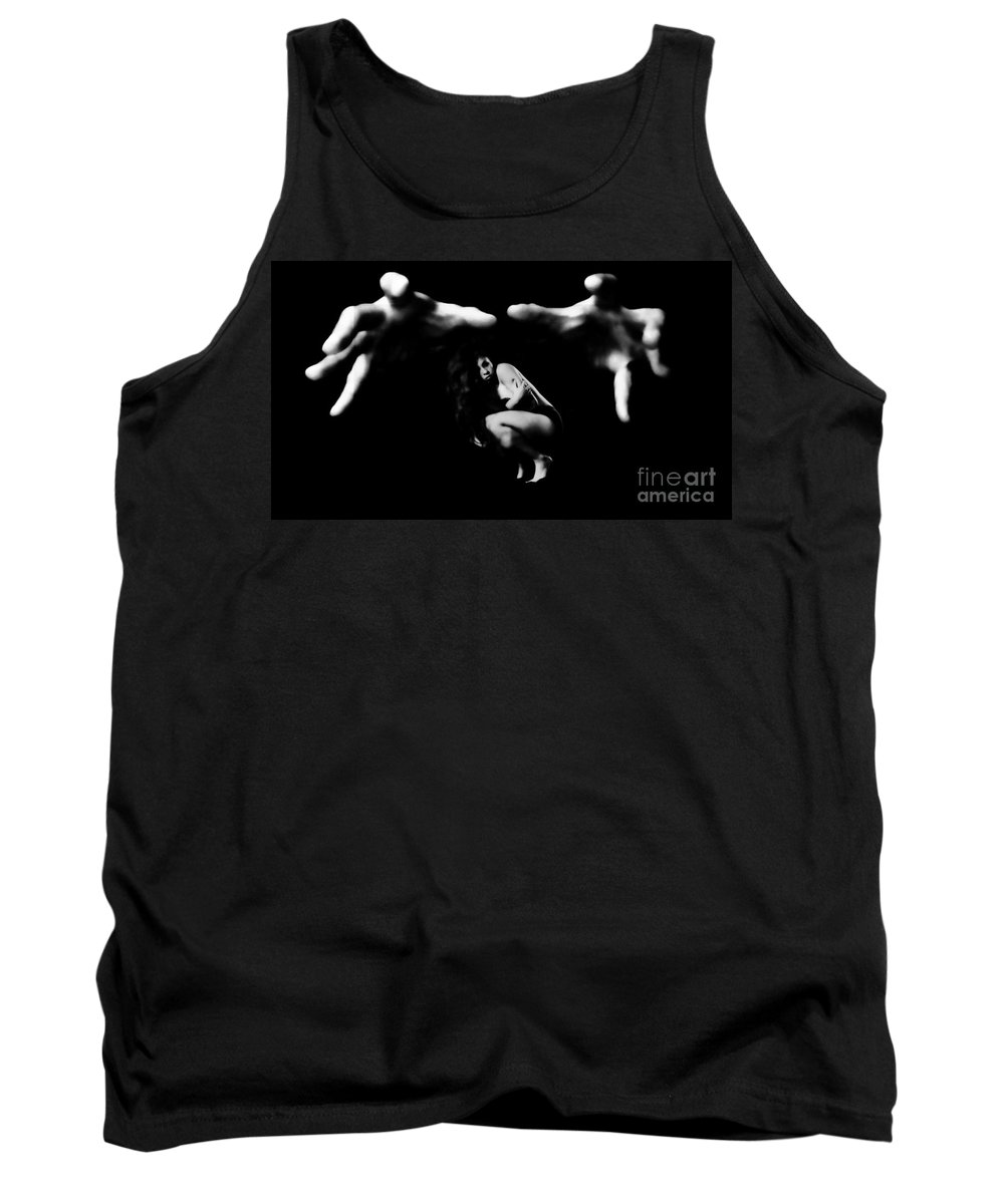 Tank Top featuring the photograph In His Grasp by Jessica Shelton