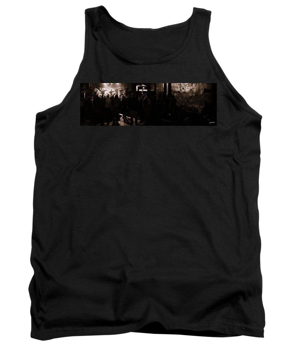 In The Beginning Tank Top featuring the photograph In The Beginning by Ed Smith