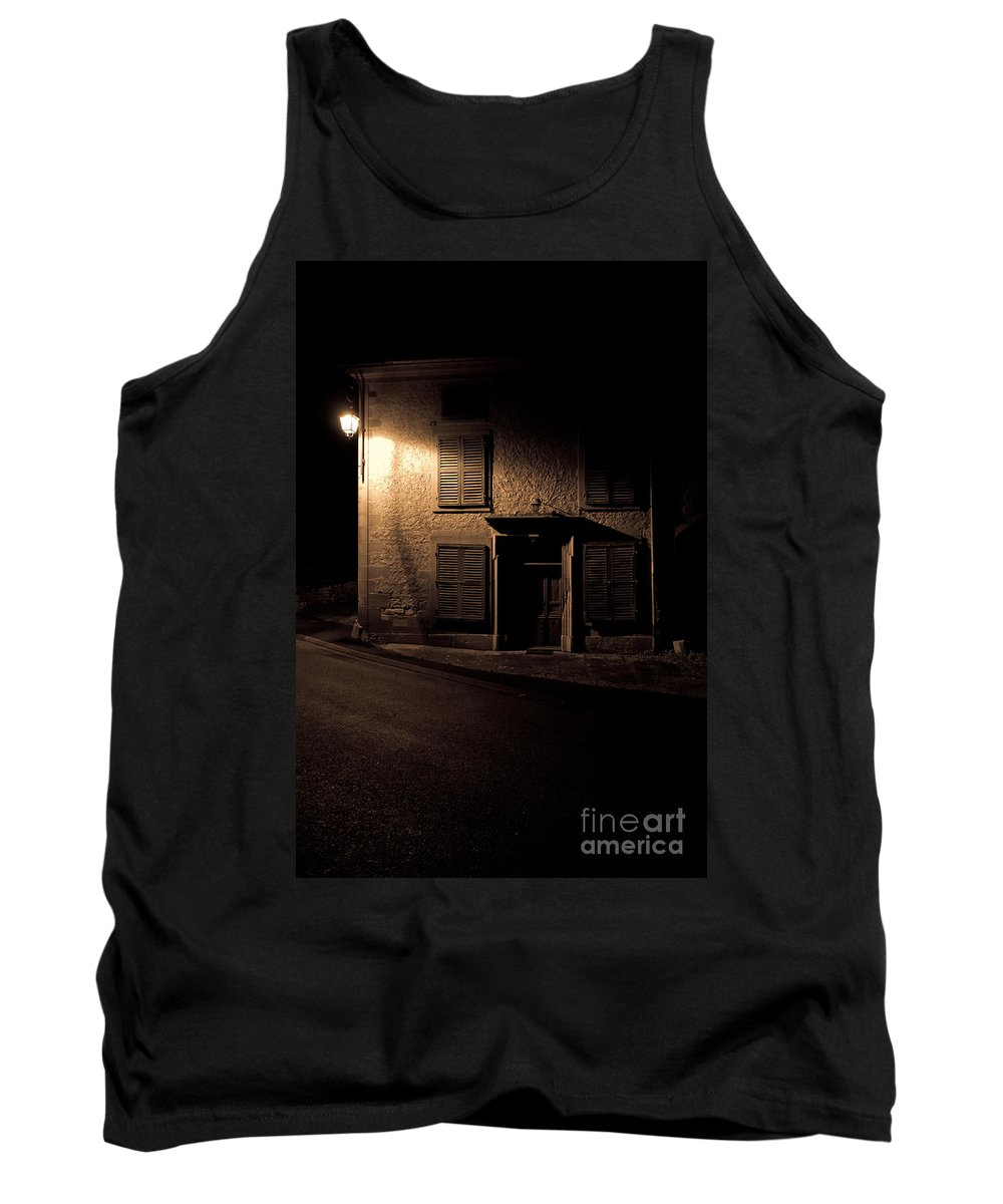 Abandoned Tank Top featuring the photograph In The Dead Of Night by Brothers Beerens