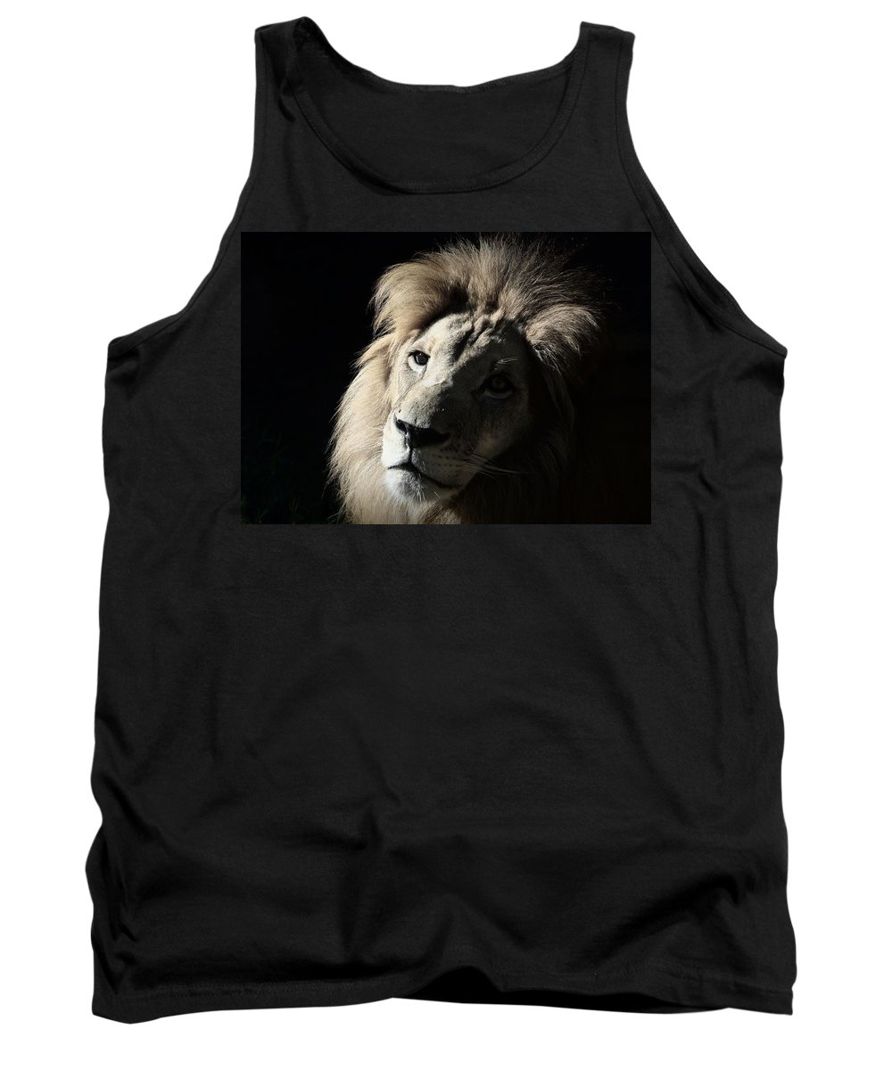 African Tank Top featuring the photograph In The Shadows by Lisa L Silva