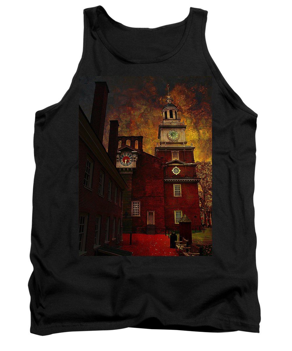 Philadelphia Tank Top featuring the photograph Independence Hall Philadelphia Let Freedom Ring by Jeff Burgess