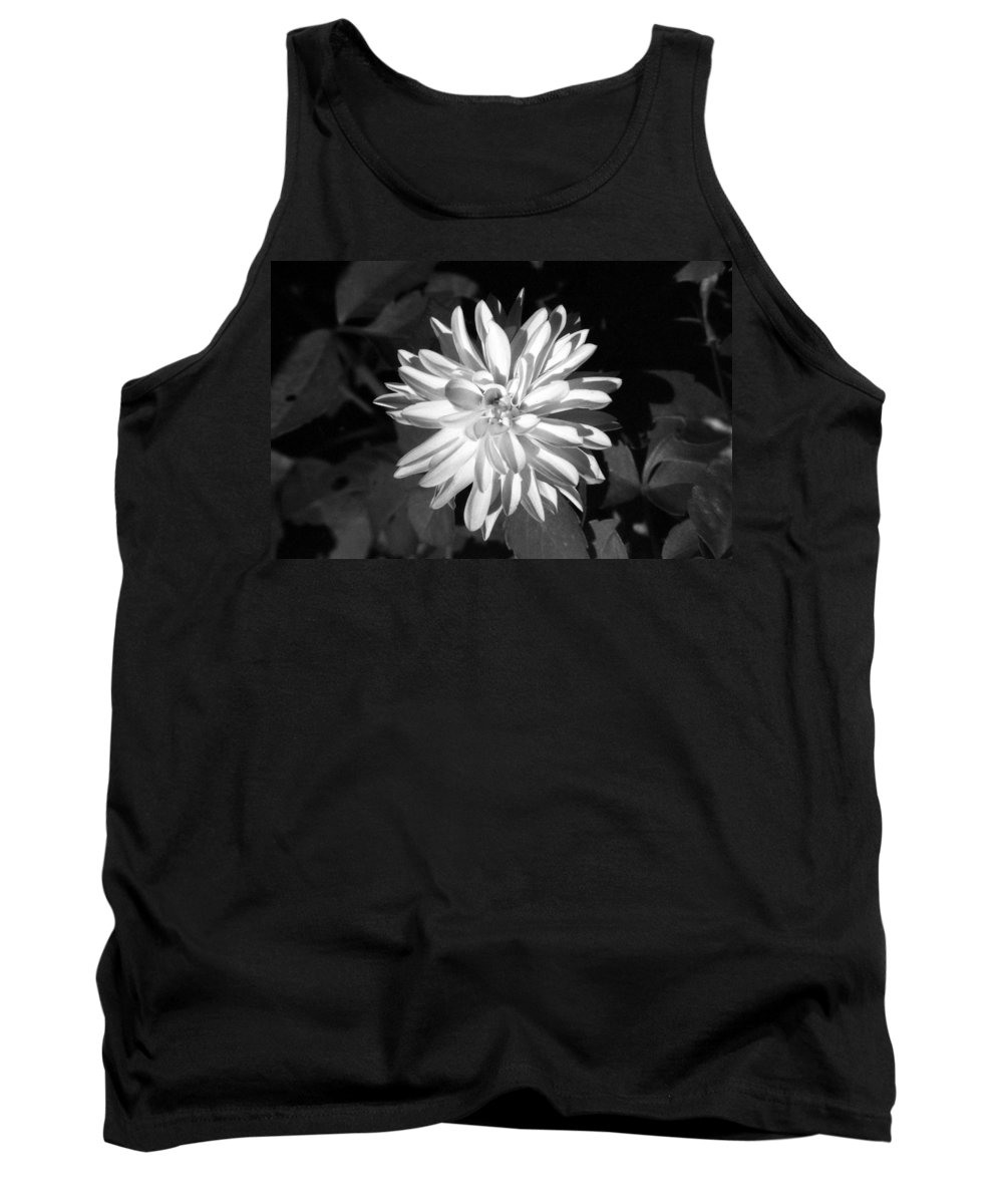Flower Tank Top featuring the photograph Infrared - Flower 03 by Pamela Critchlow