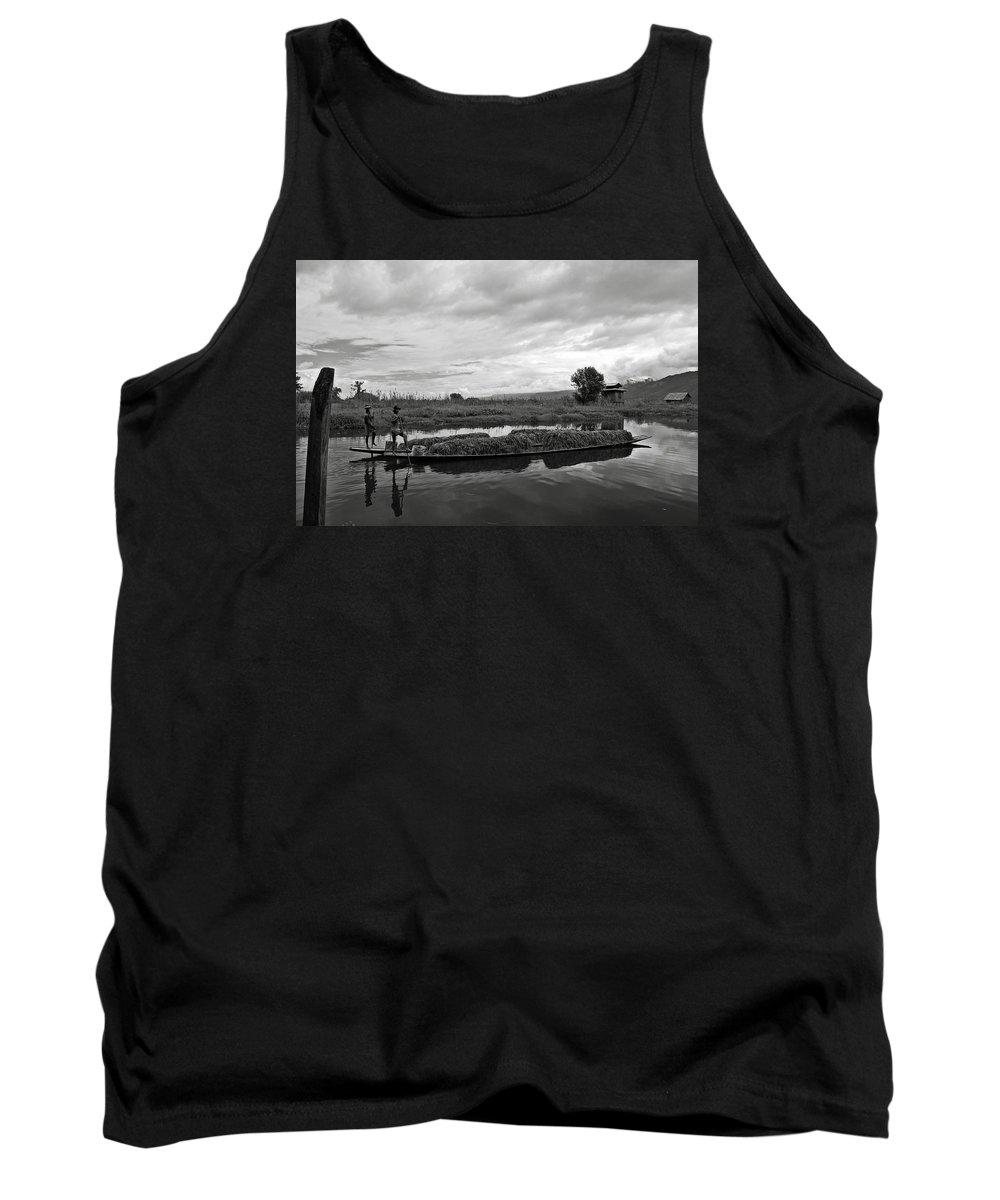Ricardmn Tank Top featuring the photograph Inle Lake In Burma by RicardMN Photography