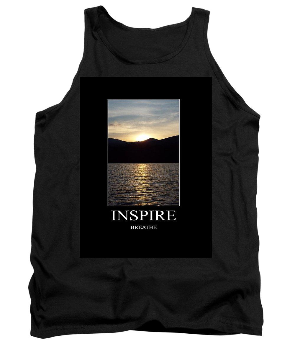 Inspire Tank Top featuring the photograph Inspire by Stefanie Beauregard