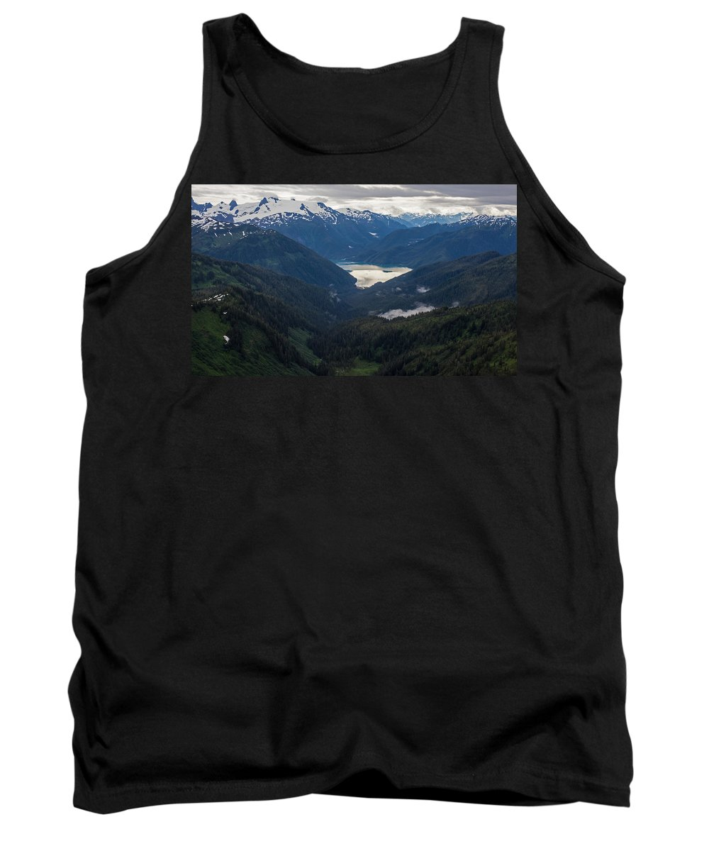 Frederick Sound Tank Top featuring the photograph Into The Wild by Mike Reid