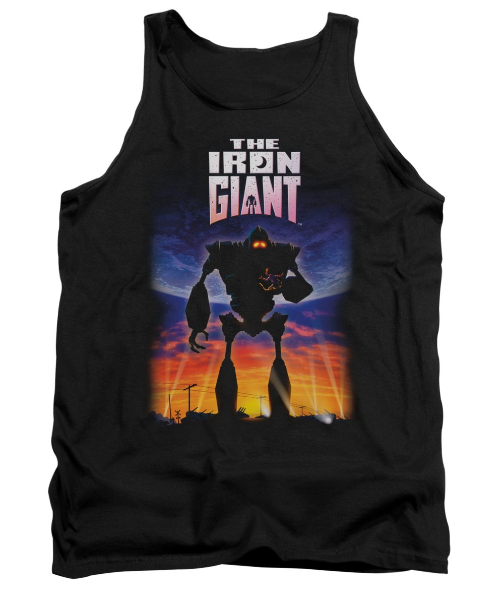 Iron Giant Tank Top featuring the digital art Iron Giant - Poster by Brand A