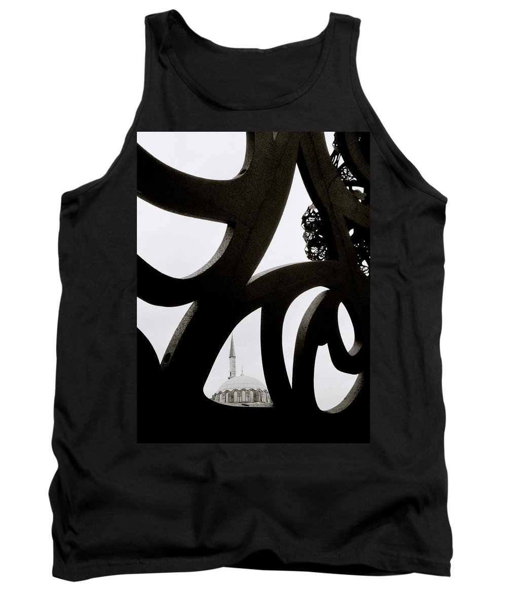 Art Tank Top featuring the photograph Islam Within Art by Shaun Higson