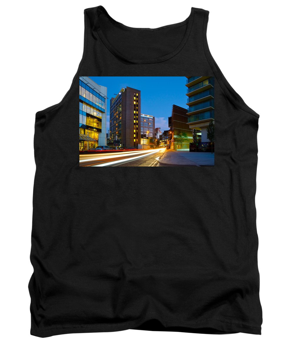 Great Britain Tank Top featuring the photograph Isle Of Dogs. by Milan Gonda