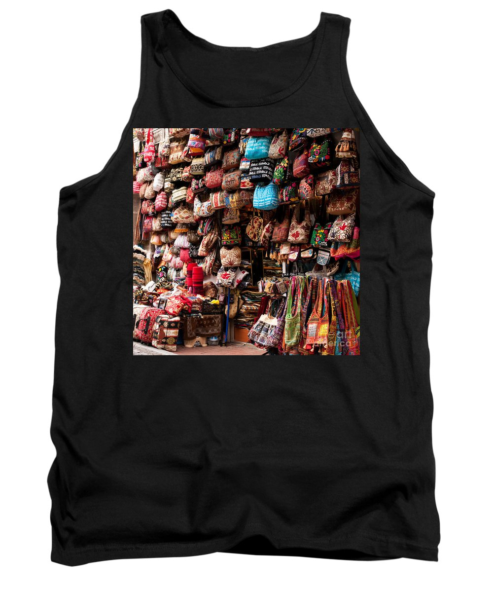 Istanbul Tank Top featuring the photograph Istanbul Grand Bazaar 06 by Rick Piper Photography