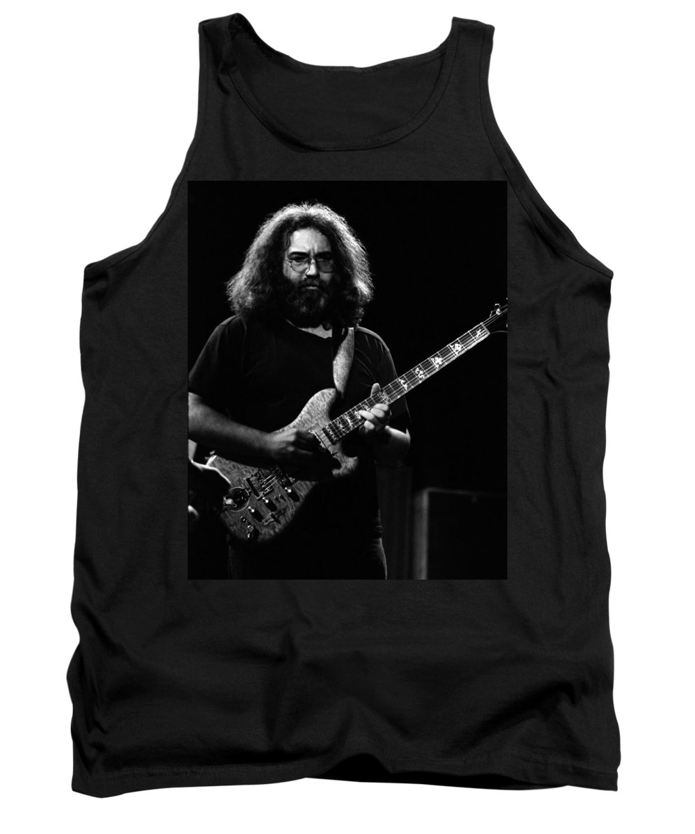 Jerry Garcia Tank Top featuring the photograph J G B #30 by Ben Upham