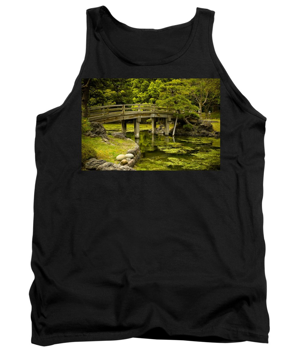 Japan Tank Top featuring the photograph Japanese Garden Tokyo by Sebastian Musial