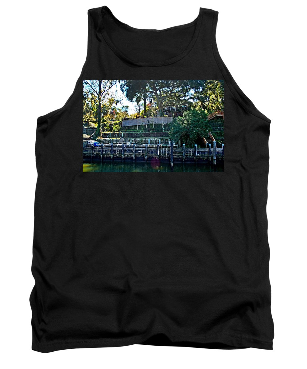 Home Portraits Tank Top featuring the digital art Jeanne by Michael Thomas
