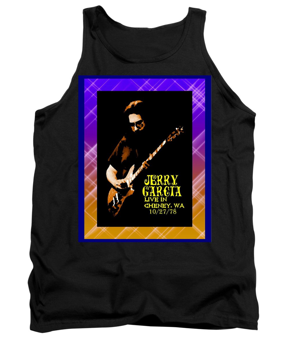 Jerry Garcia Tank Top featuring the photograph Jerry Cheney 1 by Ben Upham