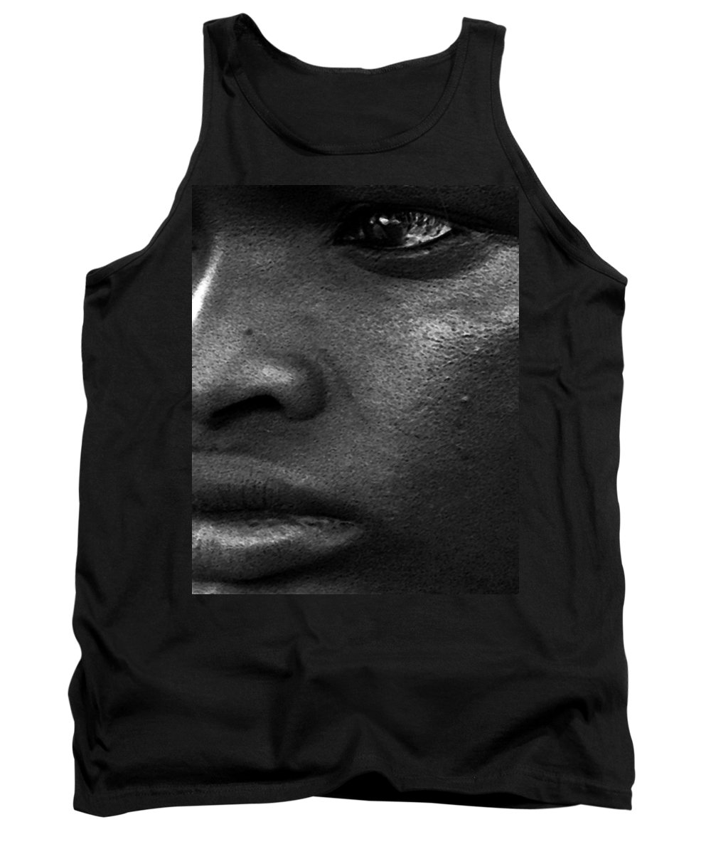 Man Tank Top featuring the photograph Jevon by Terry Fiala