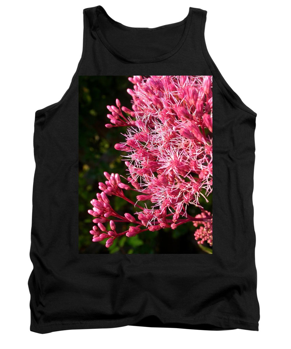 Tank Top featuring the photograph Joe Pye Weed by Cynthia Wallentine