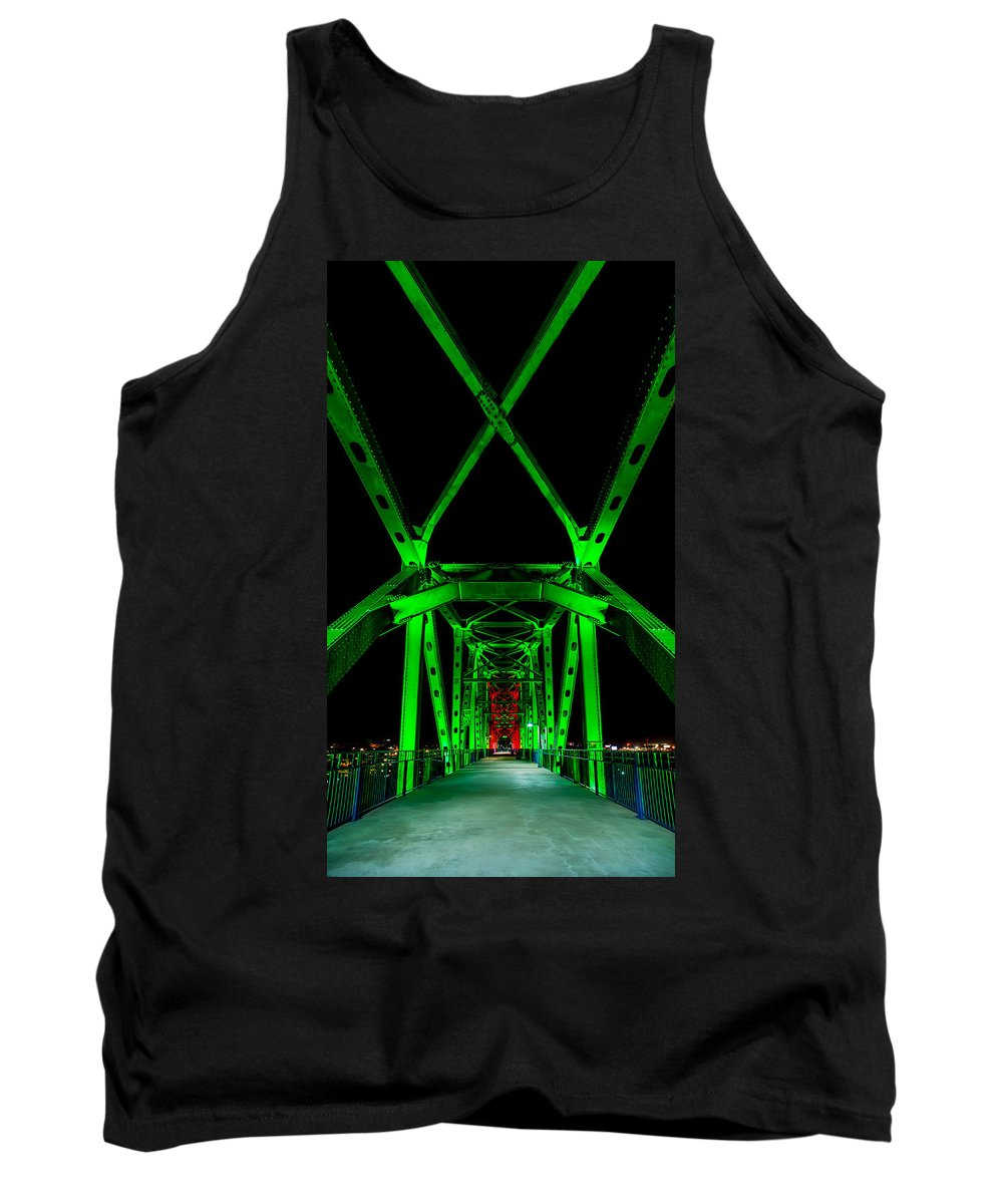Bridge Tank Top featuring the photograph Junction Bridge by David Downs