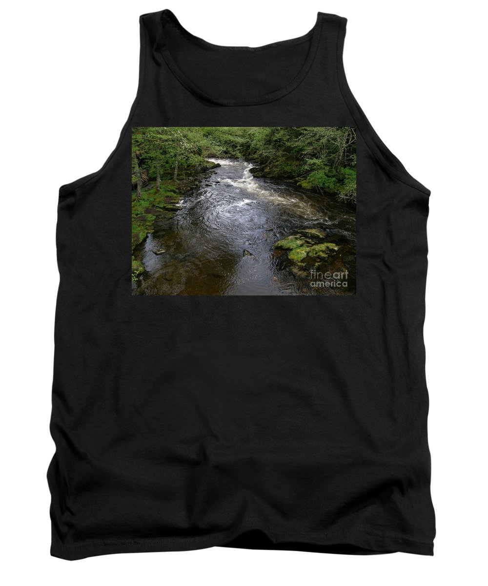 Ketchikan River Tank Top featuring the photograph Ketchikan River by Bev Conover