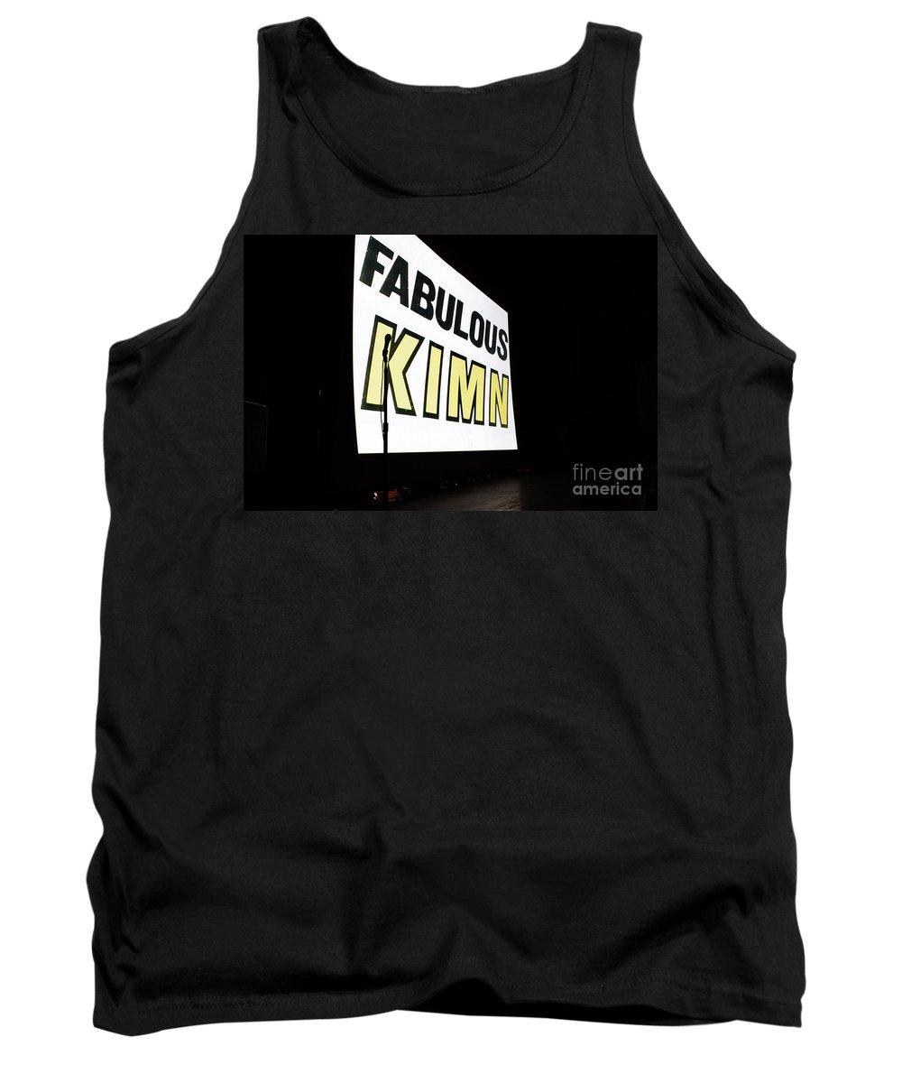Kimn Tank Top featuring the photograph Kimn Radio Denver Colorado by Janice Pariza
