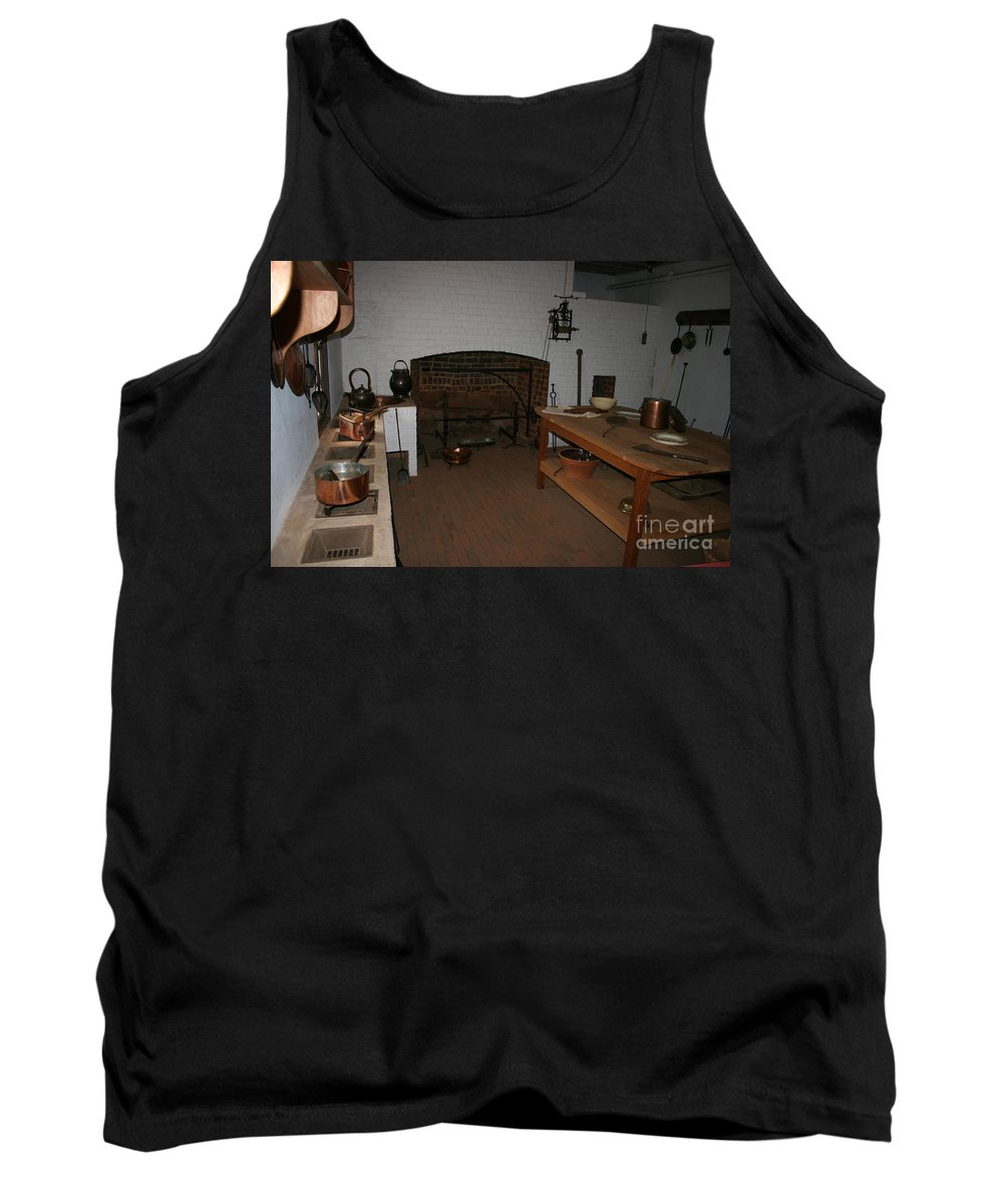 Kitchen Tank Top featuring the photograph Kitchen At Monticello by Christiane Schulze Art And Photography