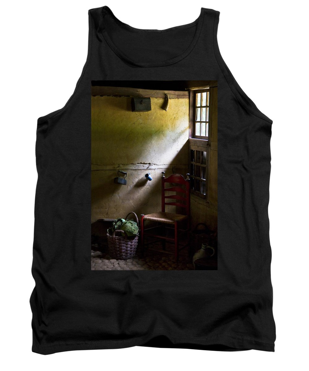 Dutch Kitchen Tank Top featuring the photograph Kitchen Corner by Dave Bowman