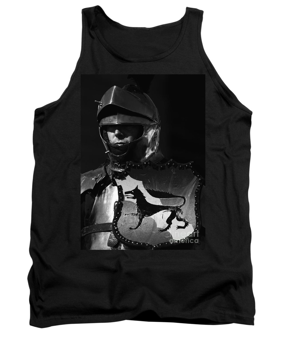 Knight In Shining Armour Tank Top featuring the photograph Knight 7 by Bob Christopher