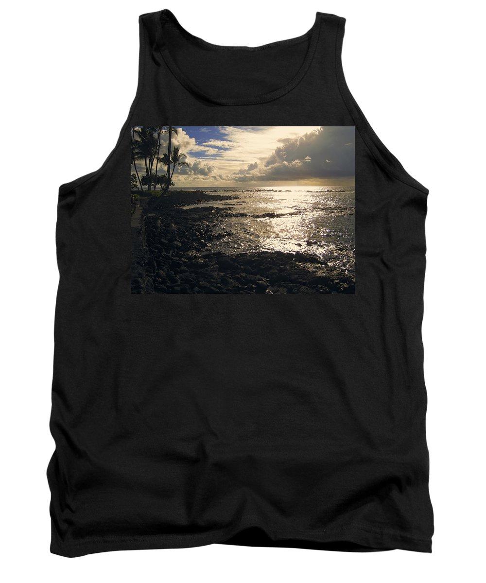 Kona Tank Top featuring the photograph Kona Coast 4 by Daniel Hagerman