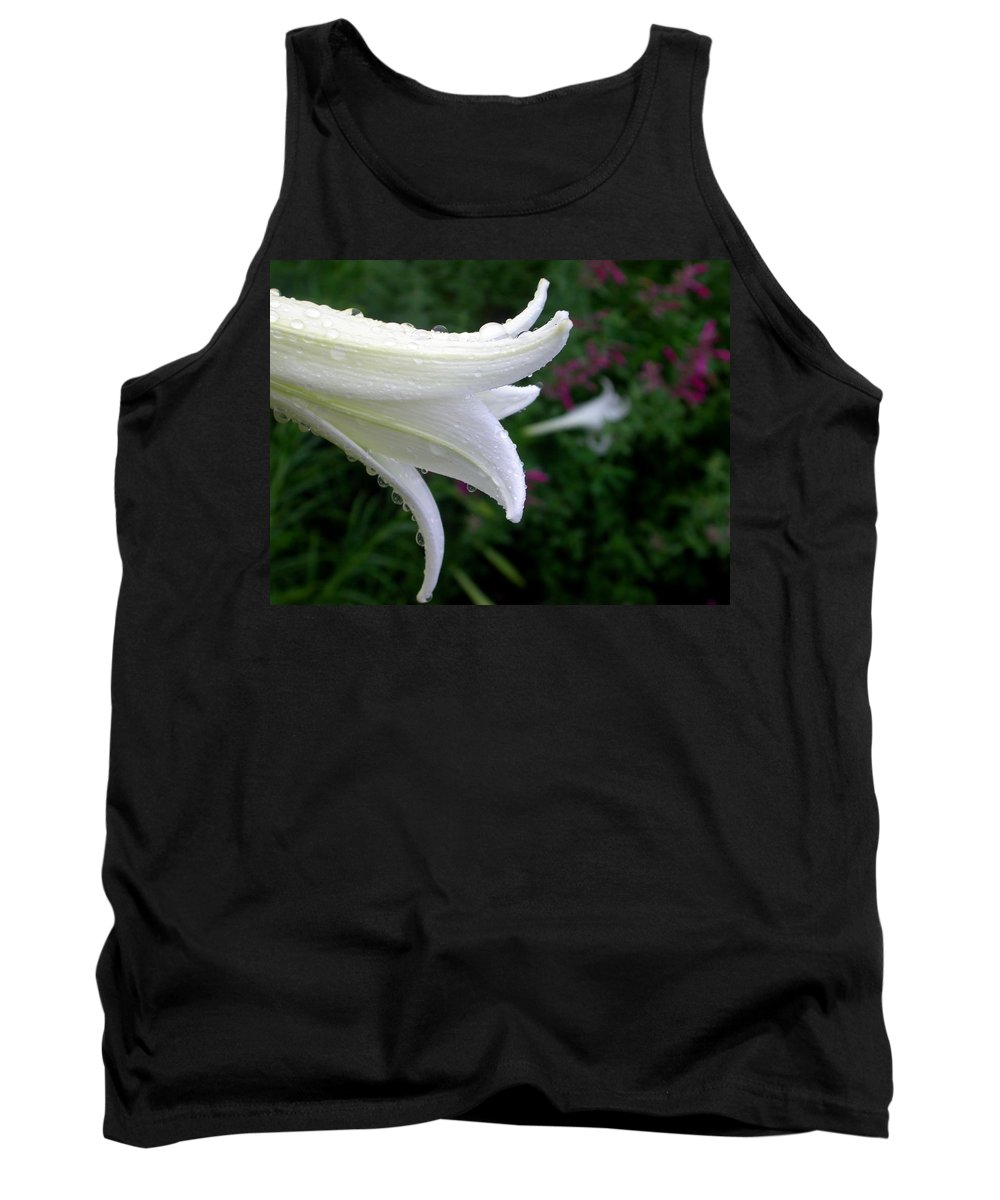 Tank Top featuring the photograph Korean Lily by Cynthia Wallentine