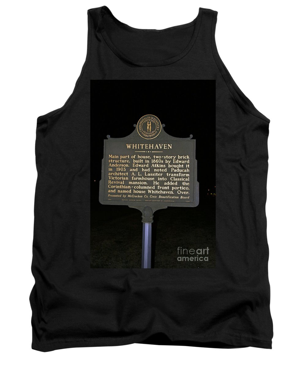 Whitehaven Tank Top featuring the photograph Ky-1754 Whitehaven by Jason O Watson