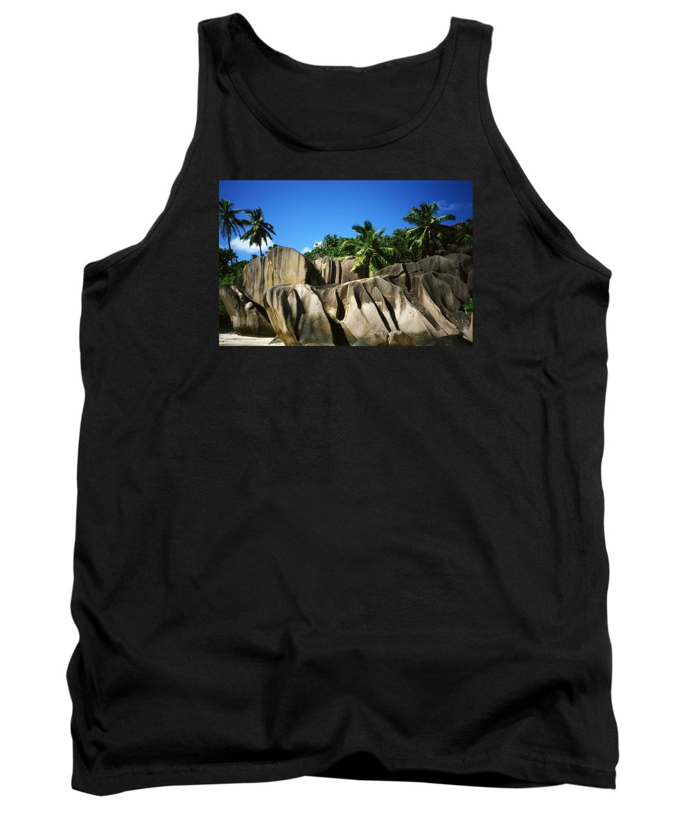 Ocean Tank Top featuring the photograph La Digue Island - Seychelles by Juergen Weiss