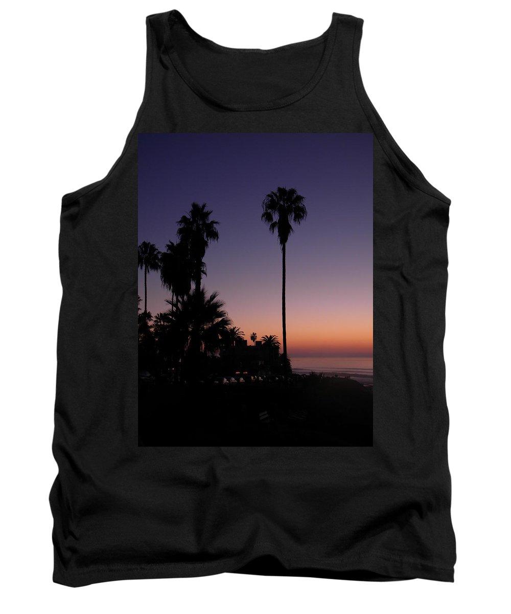 Sunset Tank Top featuring the photograph La Jolla Sunset by Eric Johansen