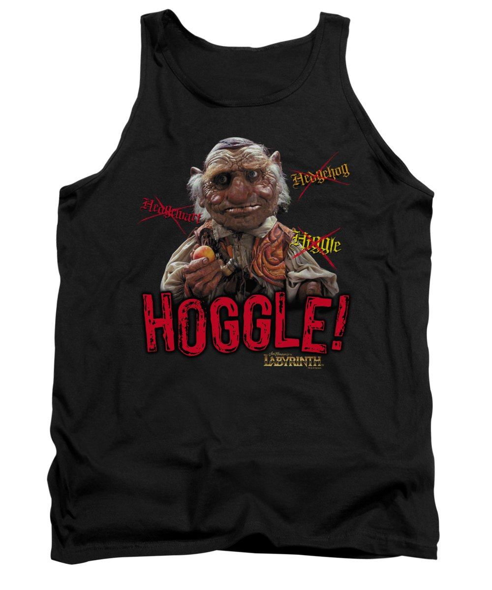 Labyrinth Tank Top featuring the digital art Labyrinth - Hoggle by Brand A