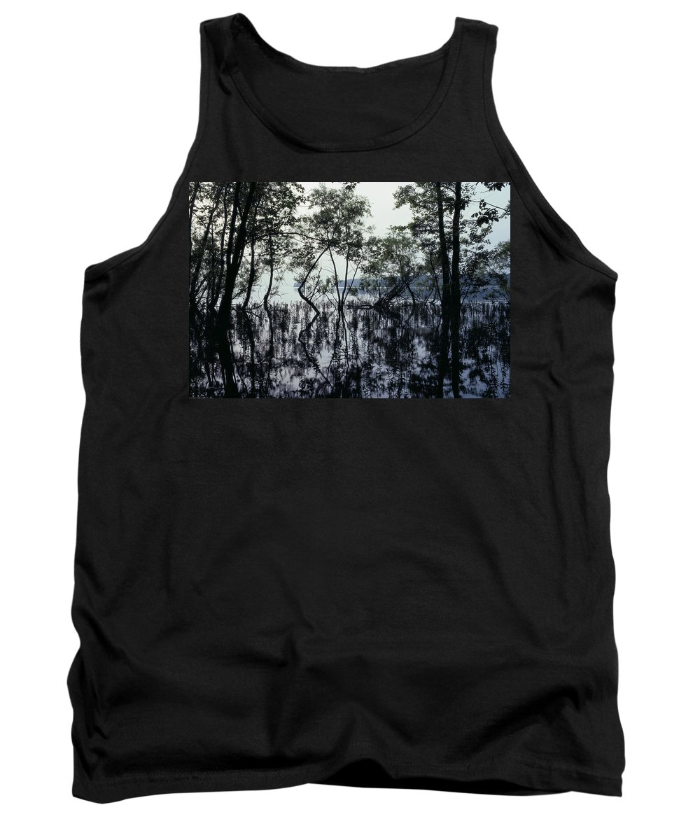 Canadian Tank Top featuring the photograph Lake Of Two Mountains, Senneville by Perry Mastrovito