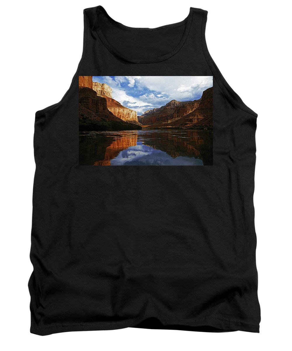 Lake Tank Top featuring the photograph Lakeview by Ingrid Smith-Johnsen