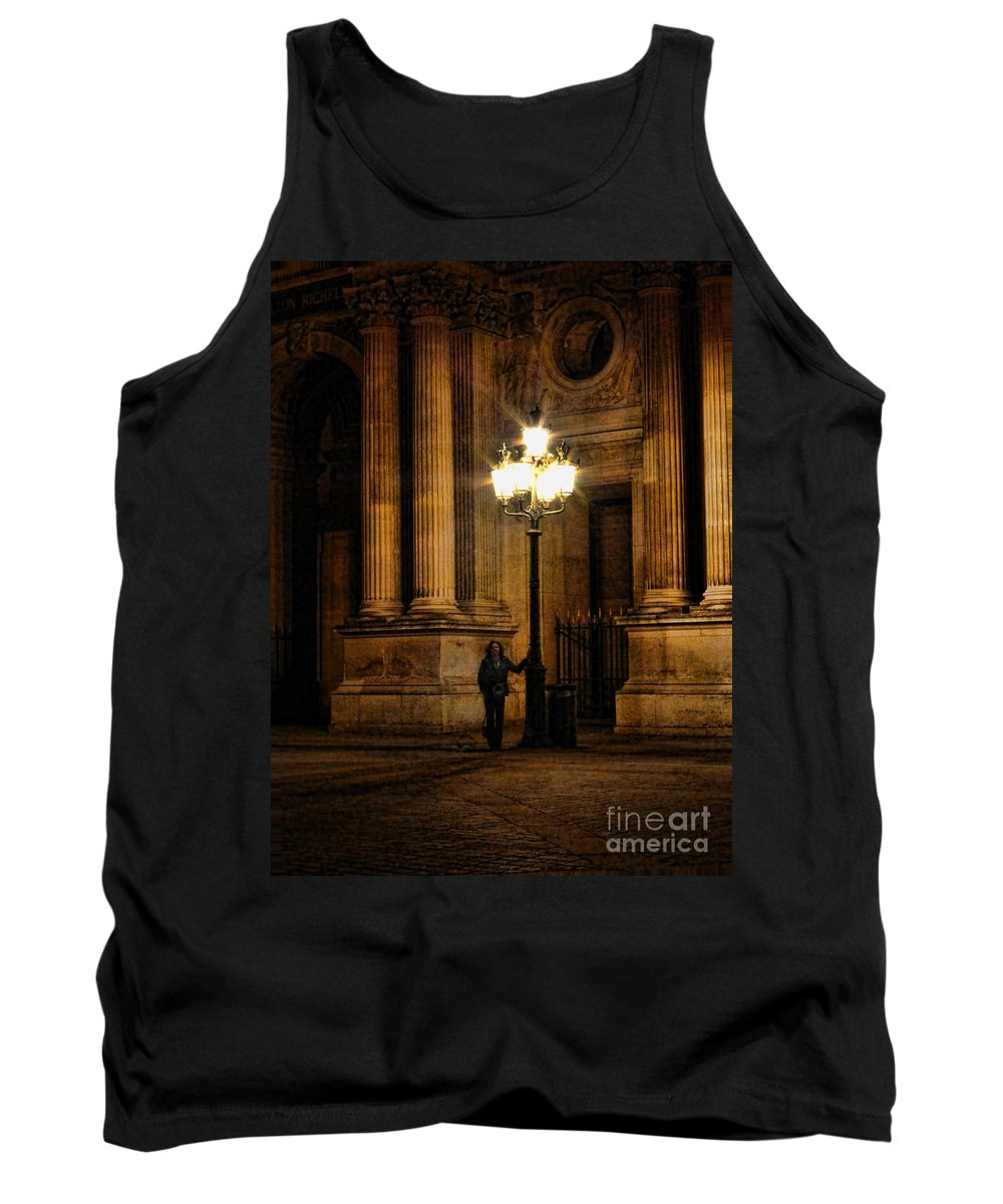 Europe Tank Top featuring the photograph Lamp Light by Crystal Nederman