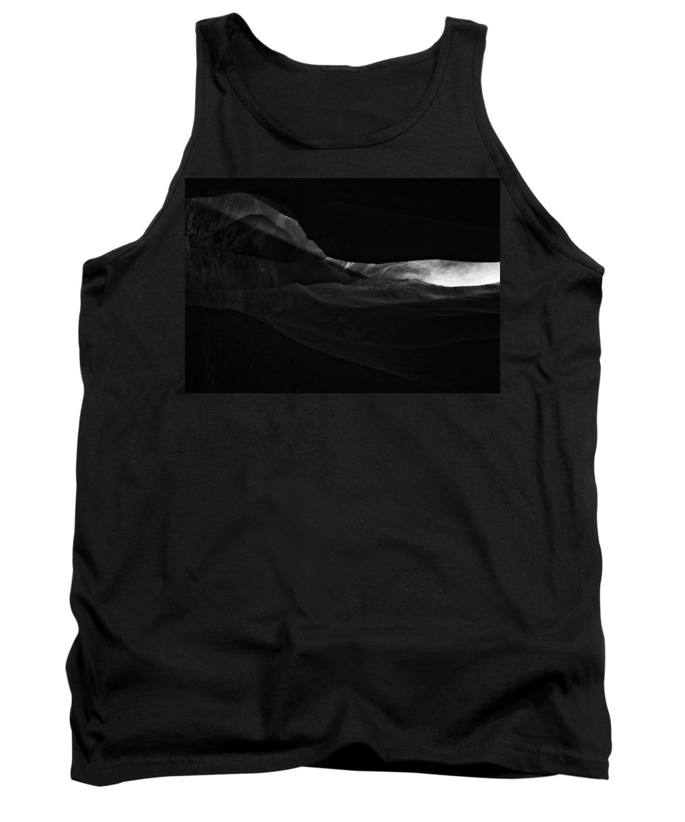 Abstract Tank Top featuring the photograph Landscape 161 by Ingrid Smith-Johnsen
