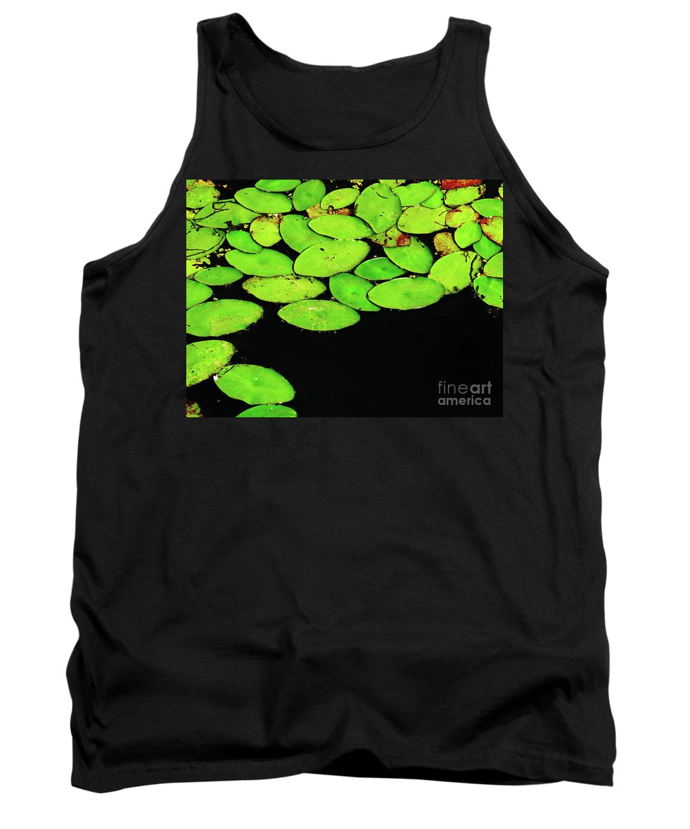 Swamp Tank Top featuring the photograph Leafy Swamp by Ann Horn