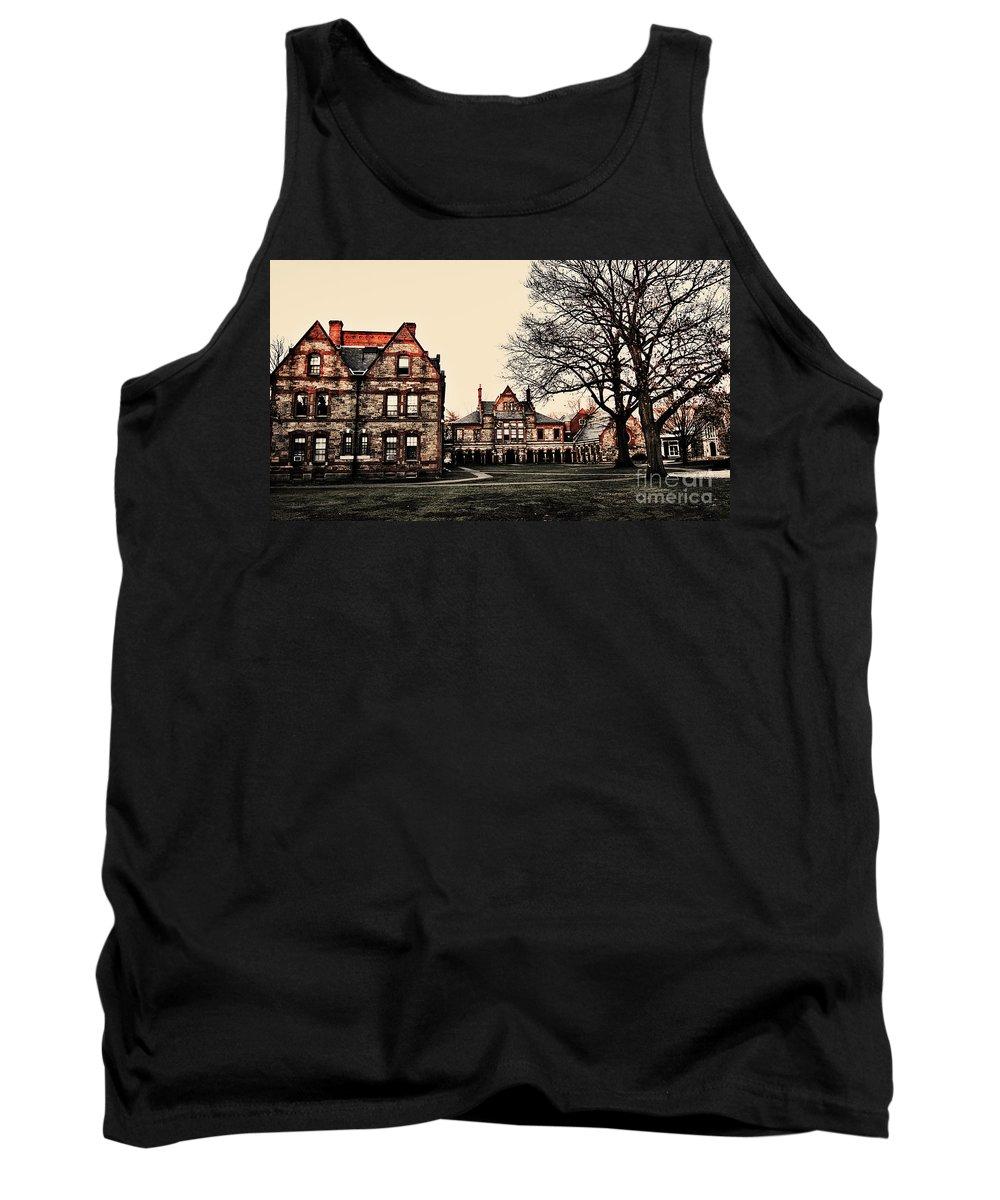 Lesley University Tank Top featuring the photograph Lesley University-cambridge Boston by Douglas Barnard