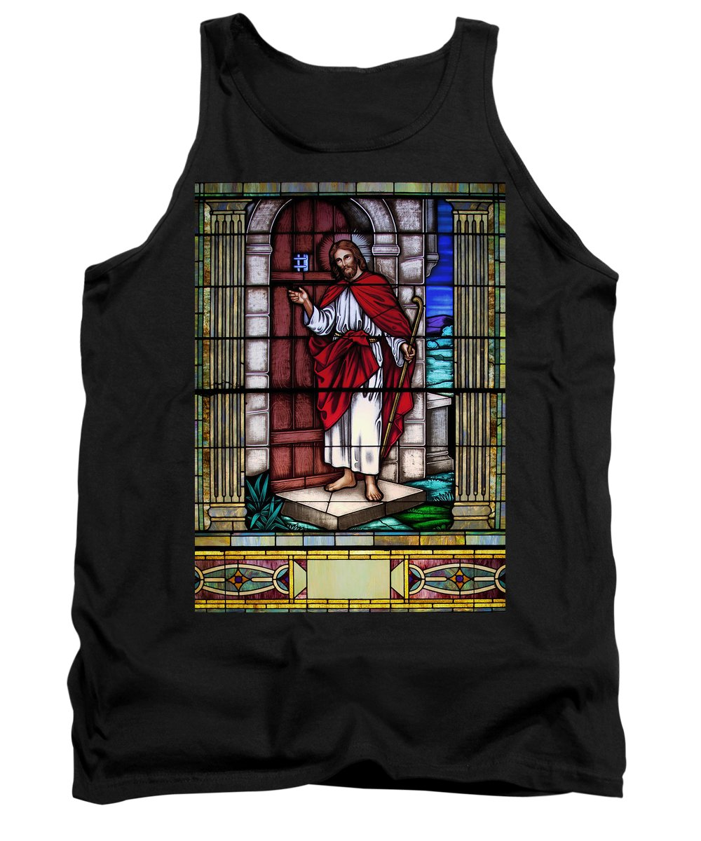 Sixteenth Street Baptist Church Tank Top featuring the photograph Let Him Into Your Heart by Mountain Dreams