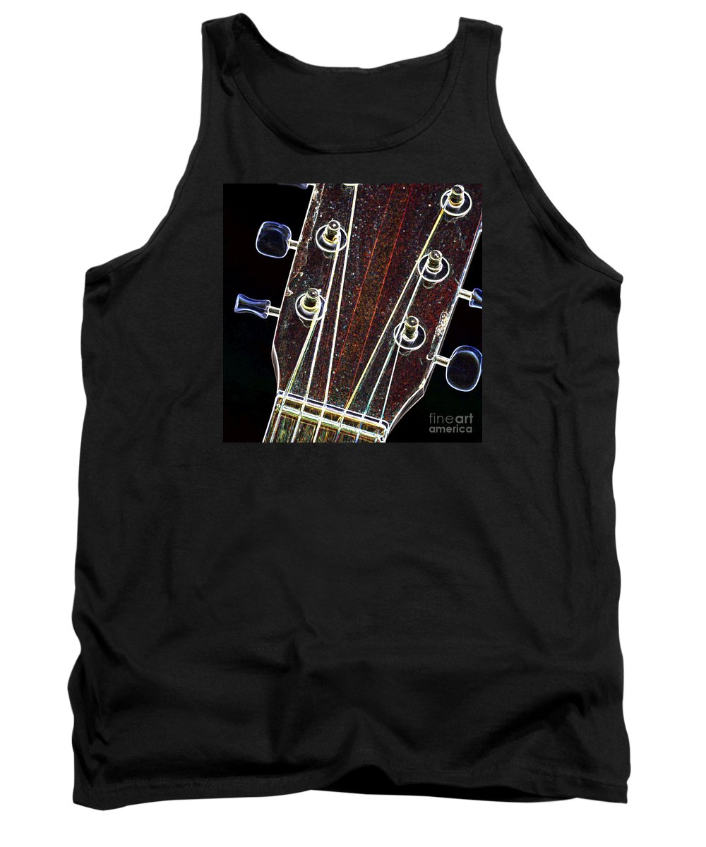 Light Tank Top featuring the digital art Light Fantastic 3 by Wendy Wilton