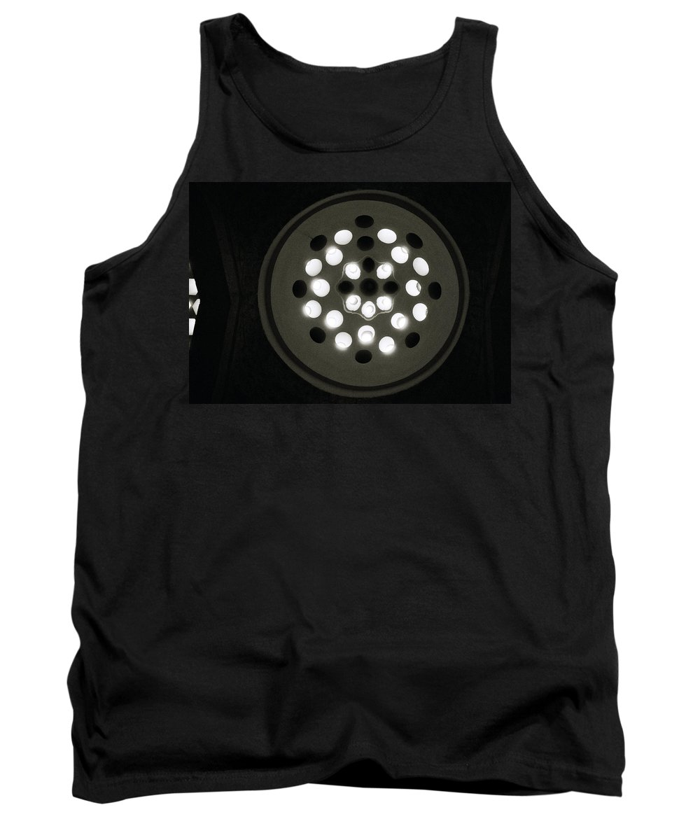 Abstract Tank Top featuring the photograph The Beautiful Light by Shaun Higson