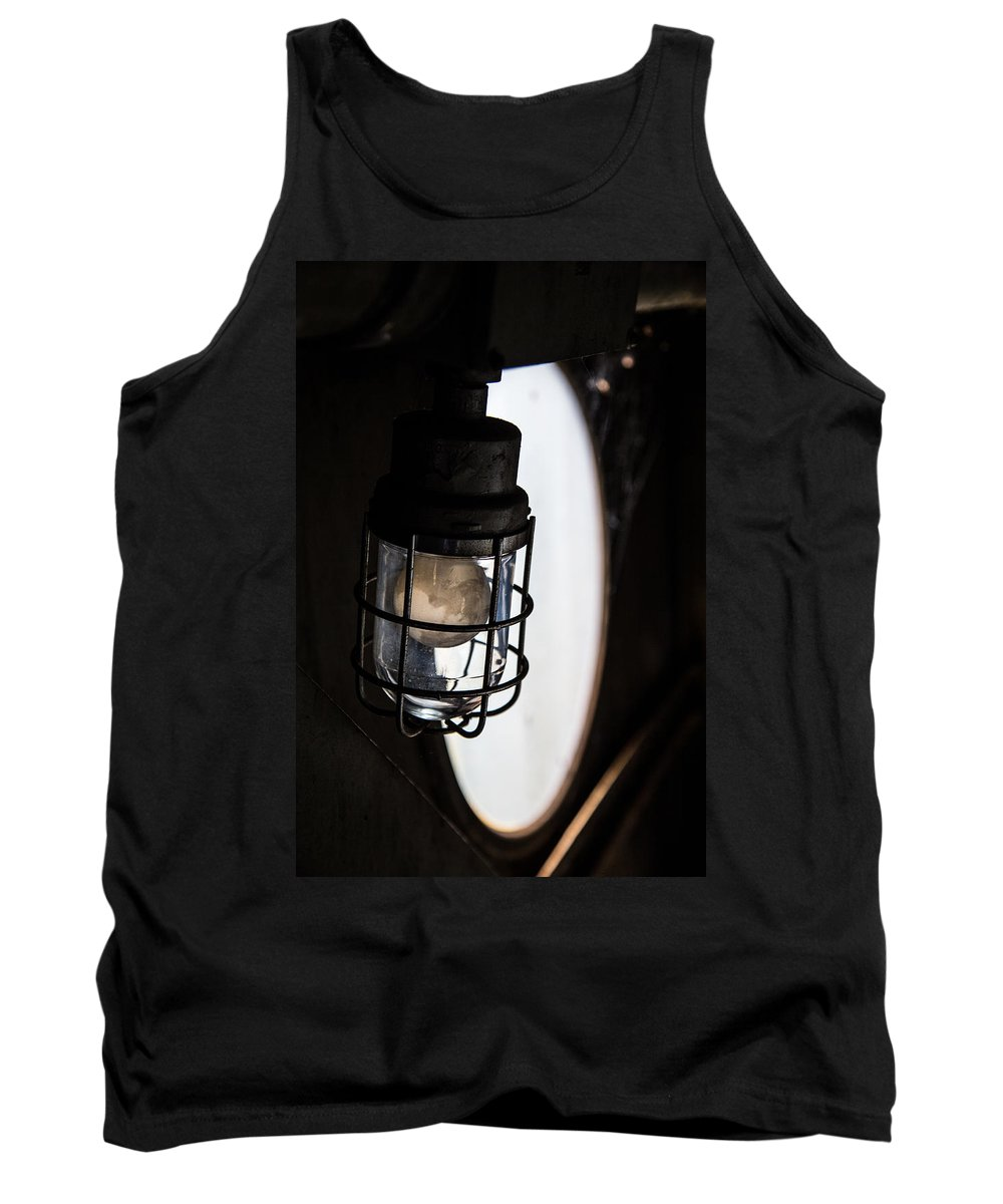 Light Tank Top featuring the photograph Lighted Way by Karol Livote