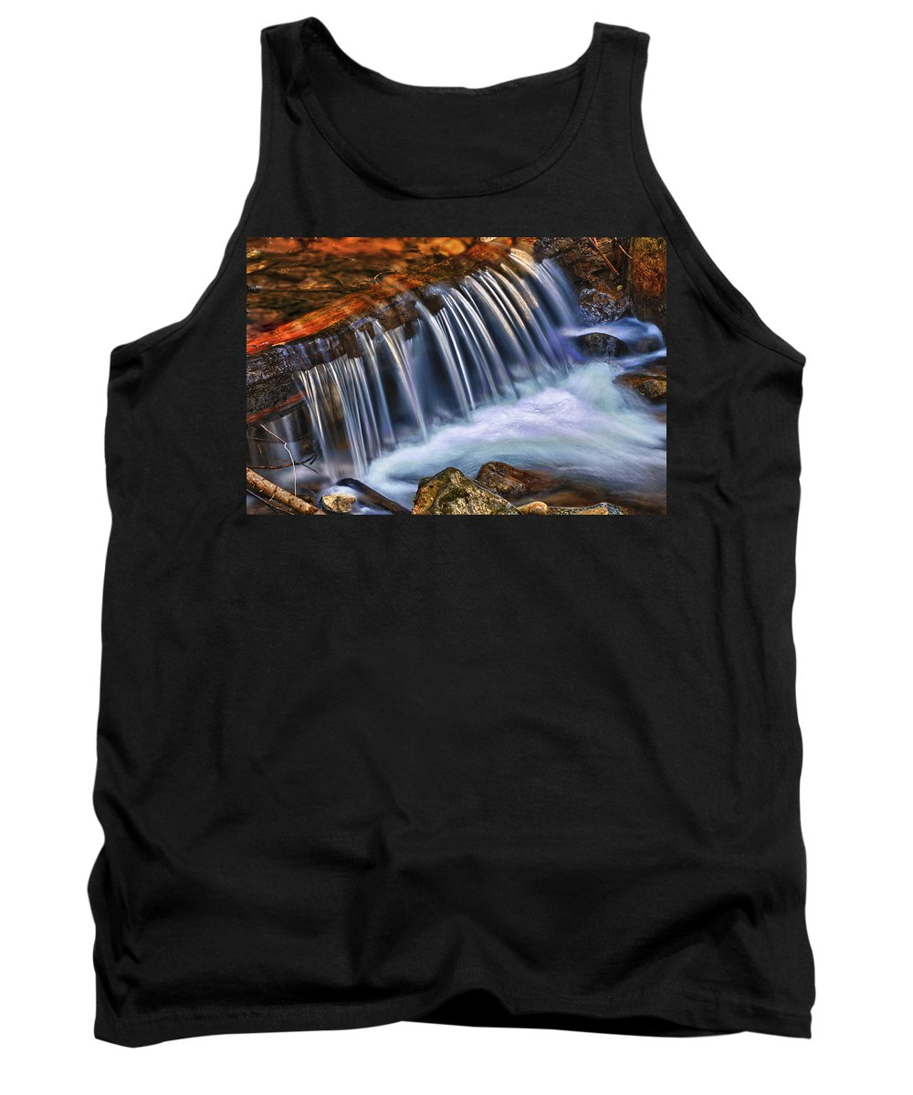 Falls Tank Top featuring the photograph Little Fall by Beth Sargent