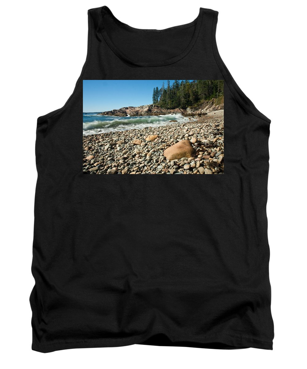 Hunters Beach Tank Top featuring the photograph Little Hunter's Beach 0009 by Brent L Ander