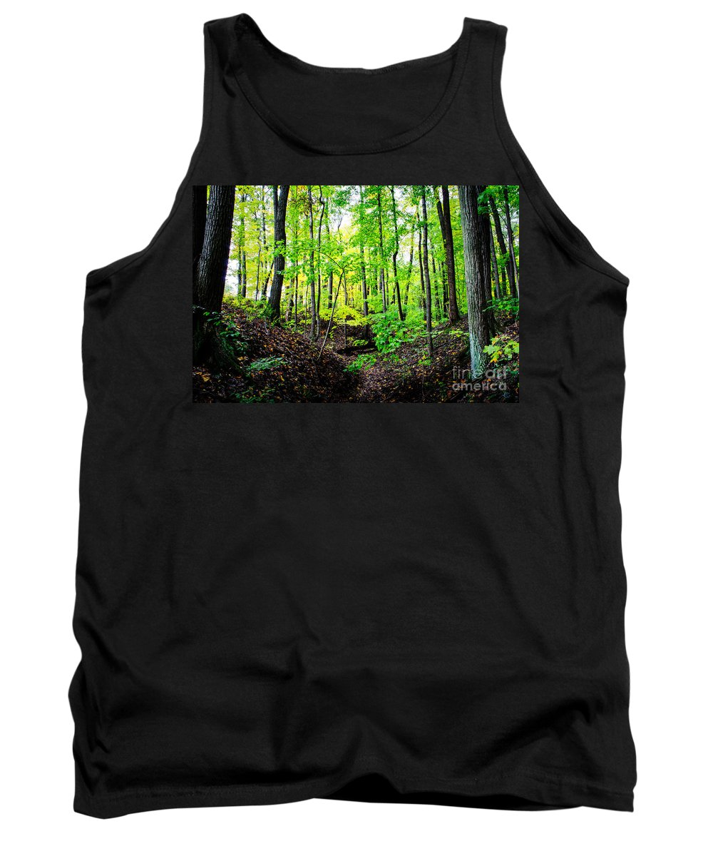Camp Libby Tank Top featuring the photograph Little Valley 3 by Michael Arend