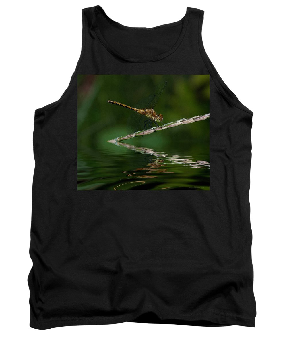 Tank Top featuring the photograph Little Yeller 2 by WB Johnston