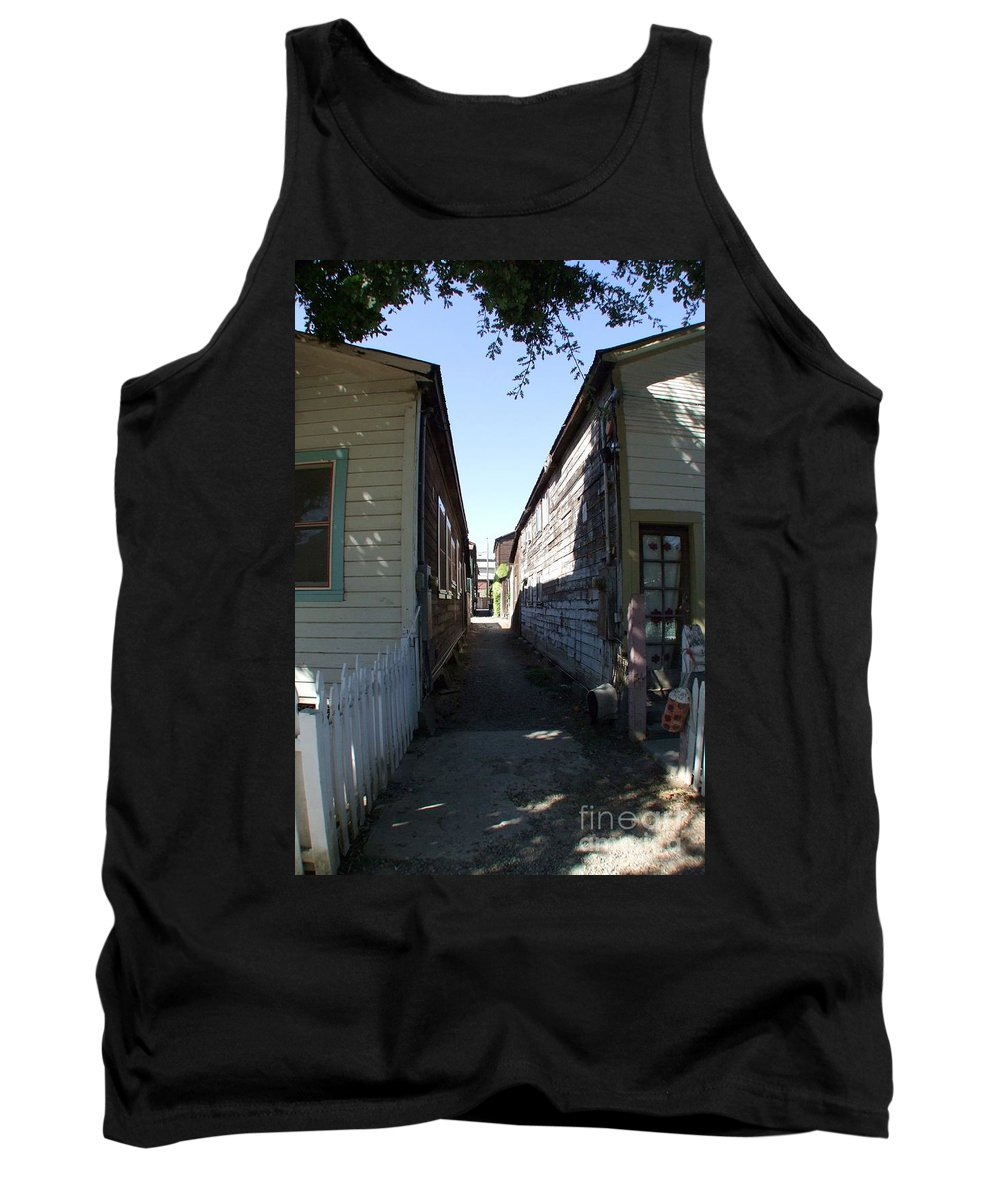 Alley Tank Top featuring the photograph Locke Chinatown Series - Back Alley - 6 by Mary Deal