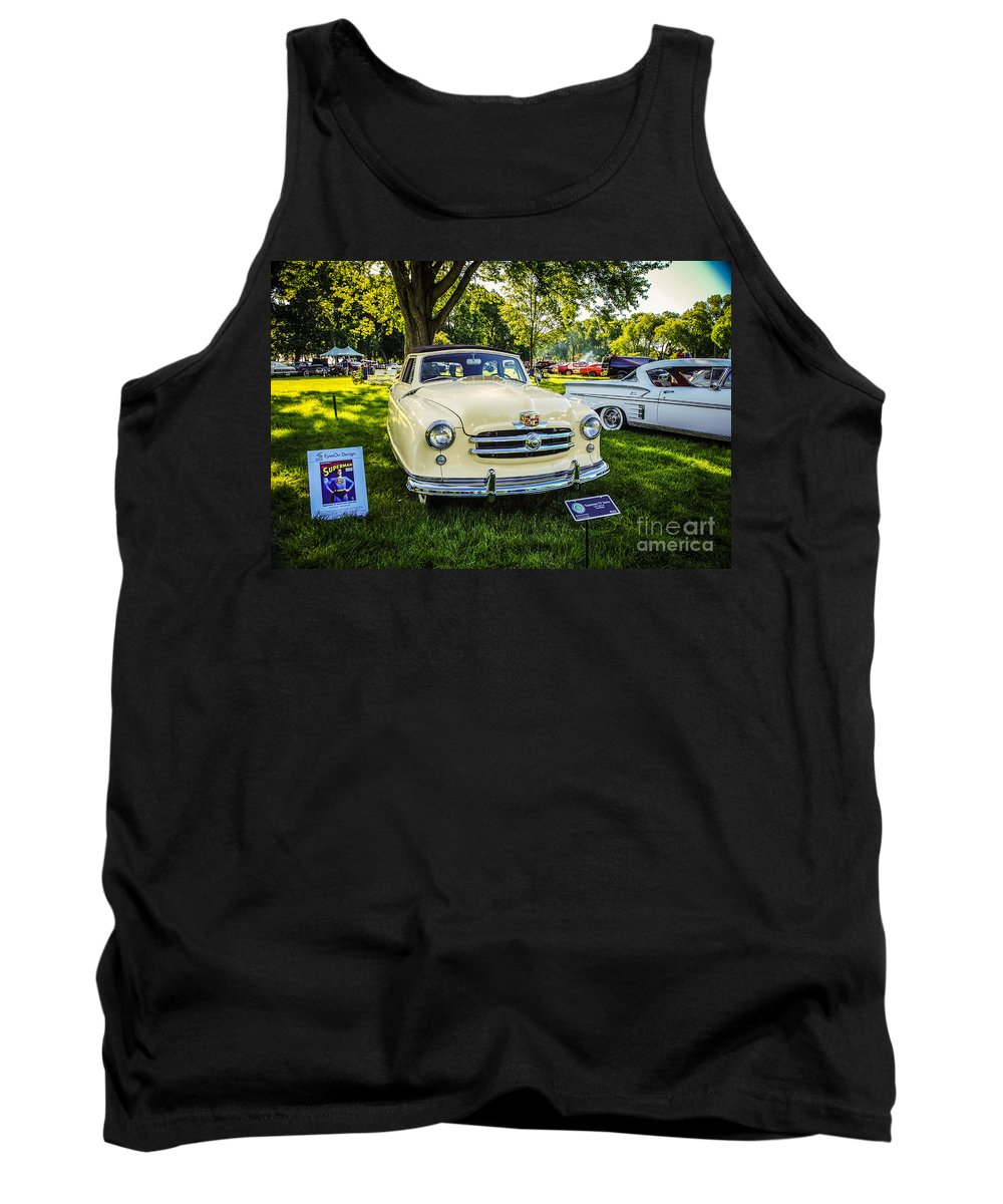 Adventures Of Superman Tank Top featuring the photograph Lois Lane Car by Grace Grogan
