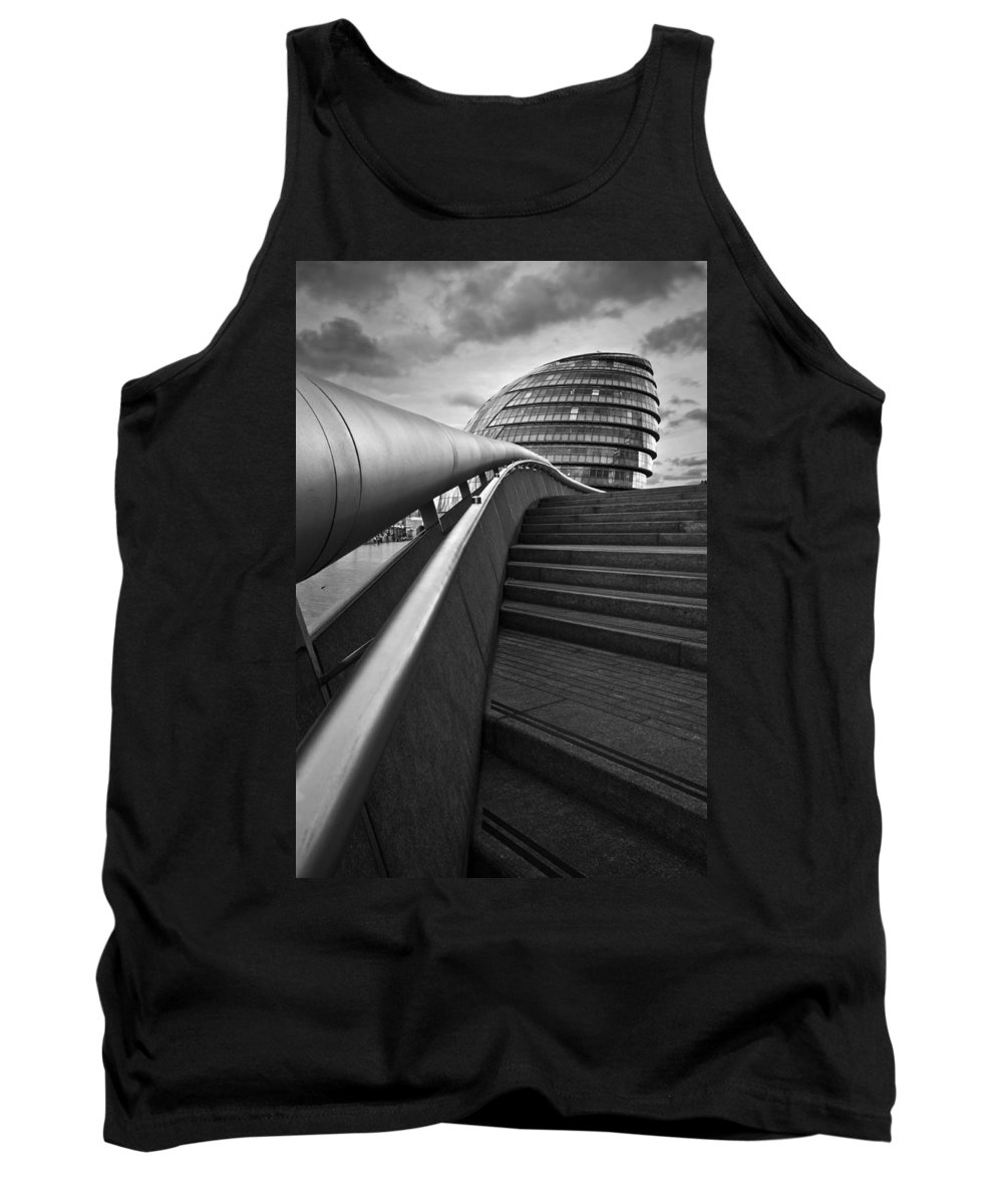 Great Britain Tank Top featuring the photograph London City Hall. by Milan Gonda